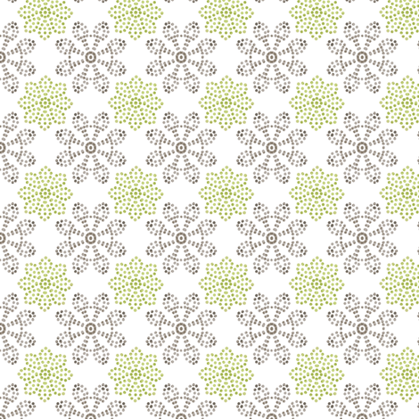 Multi Dots - Green fabric by kristopherk on Spoonflower - custom fabric