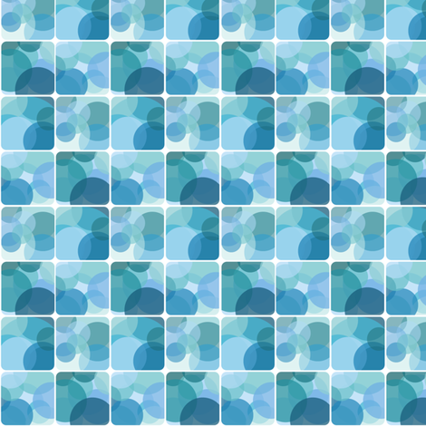Blue Lights fabric by wildnotions on Spoonflower - custom fabric