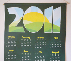 2011 New Horizon Calendar