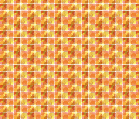 Orange Lights fabric by wildnotions on Spoonflower - custom fabric