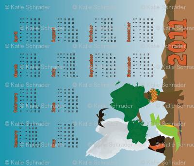 2011 Dinosaur Calendar