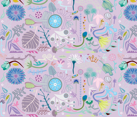 jj nature fabric by junej on Spoonflower - custom fabric