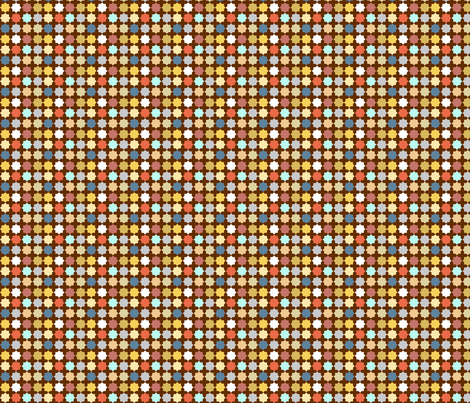 Octodots: multicolor fabric by nadiahassan on Spoonflower - custom fabric