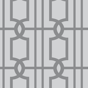 Trellis Dark Grey