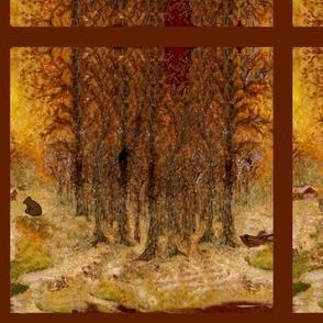 Adirondack Woods w.c. mirror