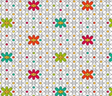 Jelly Bean PopKnit fabric by kdl on Spoonflower - custom fabric