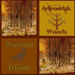 Adirondack Woods w.c.