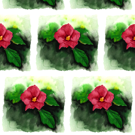 Flower Design fabric by jadegordon on Spoonflower - custom fabric