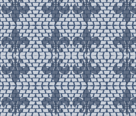 Fleur 003 fabric by lowa84 on Spoonflower - custom fabric