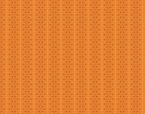 Tiny Designy-- Orange fabric by winter on Spoonflower - custom fabric