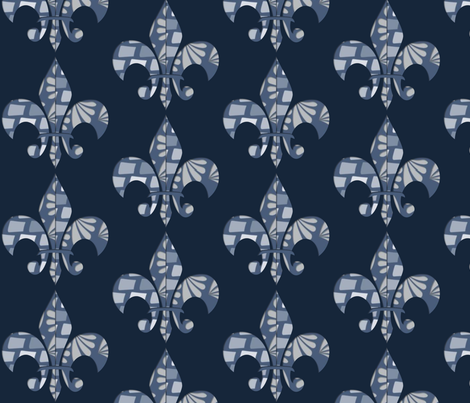 Fleur 004 fabric by lowa84 on Spoonflower - custom fabric