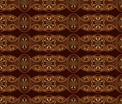 Tiny Designy-- Brown Loop