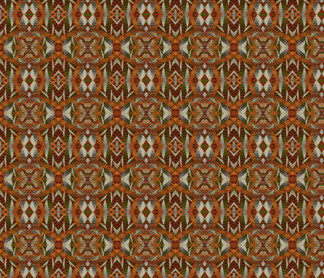Tiny Designy-- Autumn Palette fabric by winter on Spoonflower - custom fabric