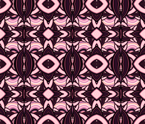 Think Pink fabric by winter on Spoonflower - custom fabric