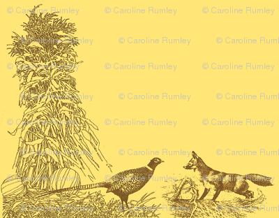 Pheasant, Fox