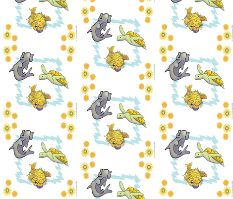 ocean_jenimals fabric by rosesegrest on Spoonflower - custom fabric