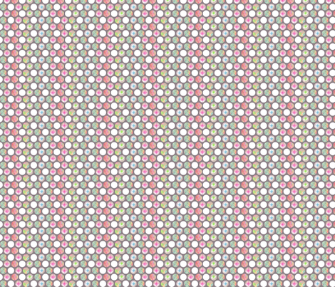 Pencilled Polka-Dots fabric by siya on Spoonflower - custom fabric