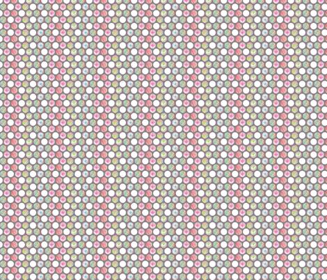 Penciled Polka-Dots fabric by siya on Spoonflower - custom fabric