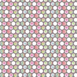 Pencilled Polka-Dots