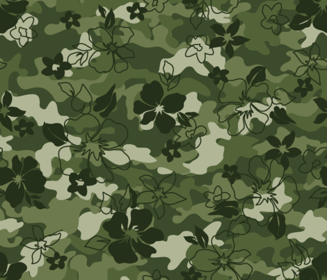 Army_Camouflage fabric by thornbirds on Spoonflower - custom fabric