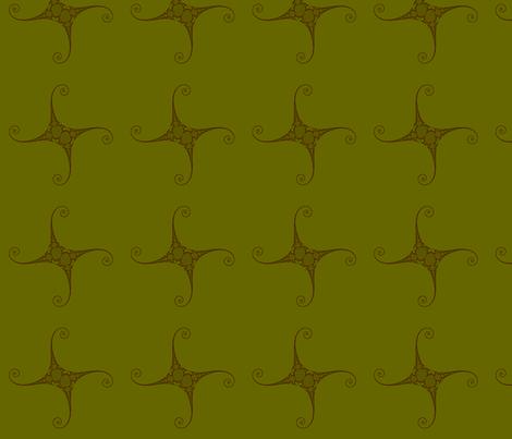 Julia/ Mandelbrot Set Mathematical Fabric 3 fabric by esmeralda_m on Spoonflower - custom fabric