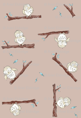 Enchanted Owls