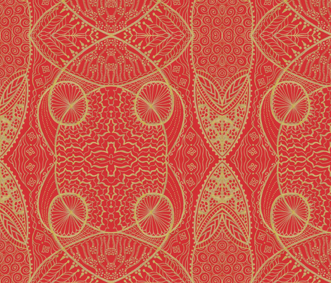 Happy_Anniversary fabric by oodleardle on Spoonflower - custom fabric