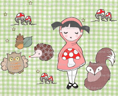 Little Red and the Woodland creatures