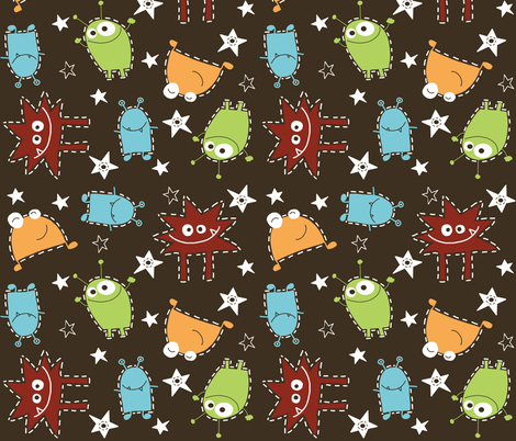 Fabric space fabric emilyb123 spoonflower for Space pattern fabric