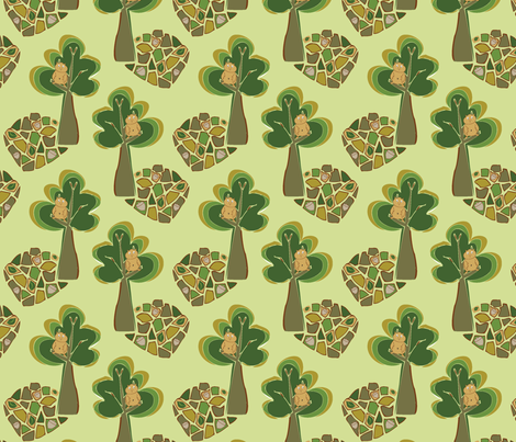 Hoot fabric by rubysky on Spoonflower - custom fabric