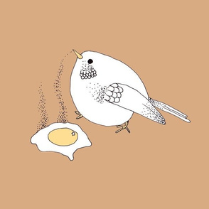 egg and bird