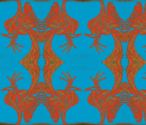 JamJax Rooster Roast fabric by jamjax on Spoonflower - custom fabric
