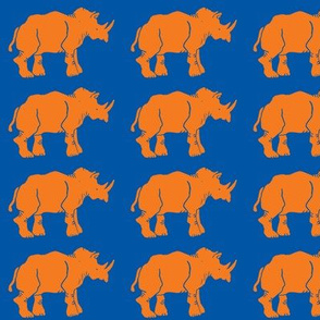 Smaller Orange Rhinos