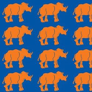 Smaller Orange Rhinos