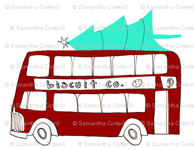 holiday double decker bus