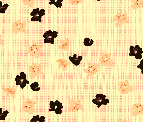 spotted_blooms_large fabric by fiona_mcdonald_juicyapple on Spoonflower - custom fabric