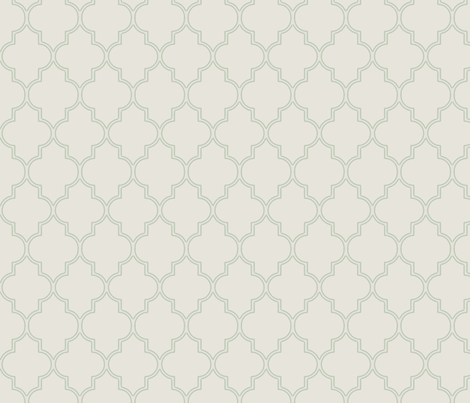 Delicate Ogee fabric by willowlanetextiles on Spoonflower - custom fabric