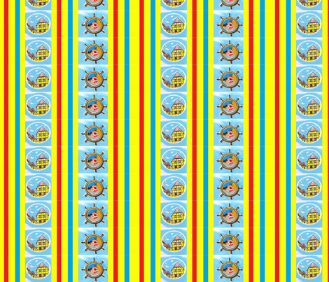 Kerteminde children's design fabric by _vandecraats on Spoonflower - custom fabric