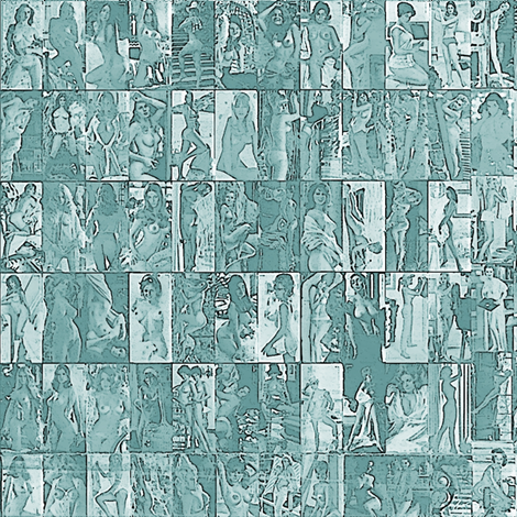 Centrefold City fabric by nalo_hopkinson on Spoonflower - custom fabric