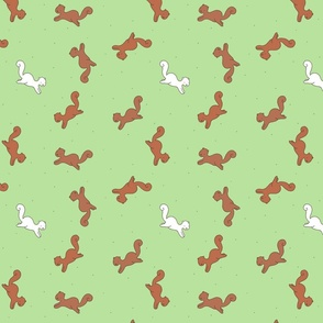 Leaping Squirrels