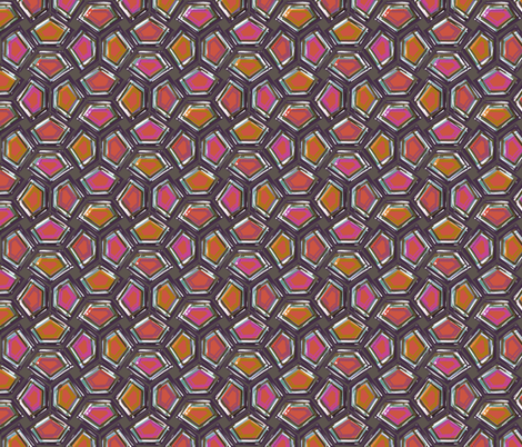 Seraglio fabric by ormolu on Spoonflower - custom fabric