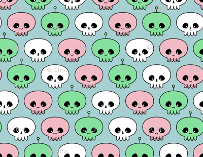 Squids, Skulls and Spacemen