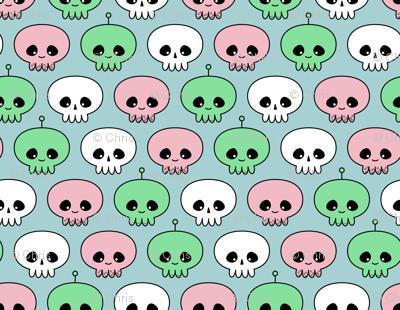 Squids, Skulls and Spacemen