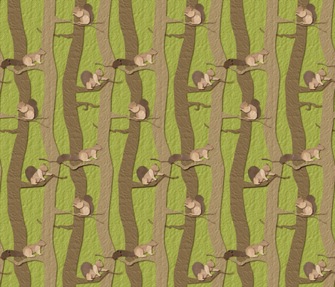 Squirrel Away fabric by jmckinniss on Spoonflower - custom fabric