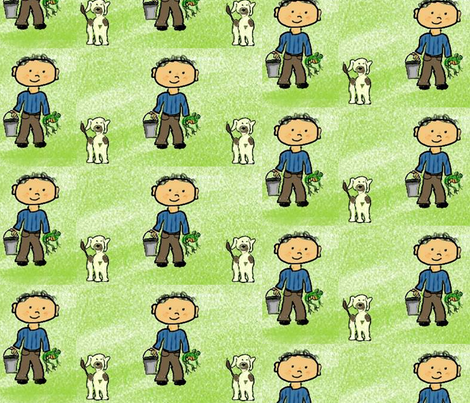 Boy's Life fabric by qpdoll on Spoonflower - custom fabric