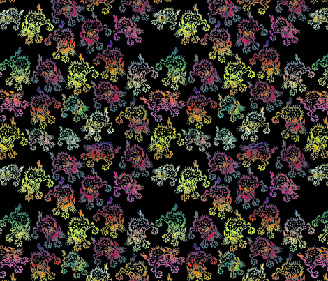 Nature's Screechers fabric by whatsit on Spoonflower - custom fabric