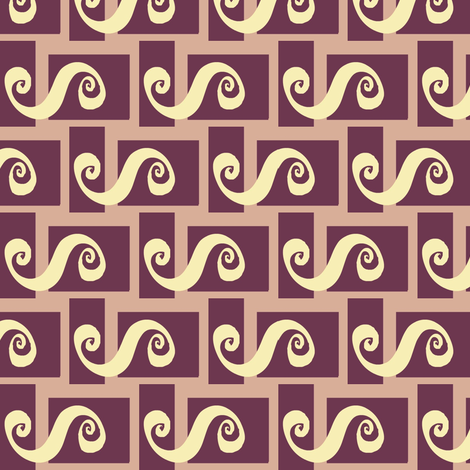 Bento Spilling Spirals fabric by boris_thumbkin on Spoonflower - custom fabric