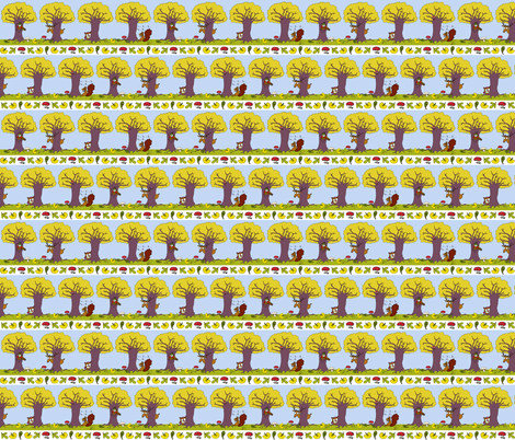 Hide and Seek fabric by betje on Spoonflower - custom fabric