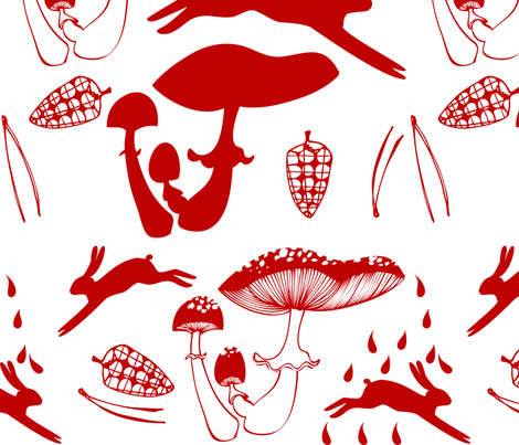 Morgonstund fabric by bornmarker on Spoonflower - custom fabric