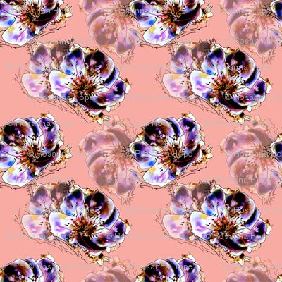 FloraL Fantasy Peach